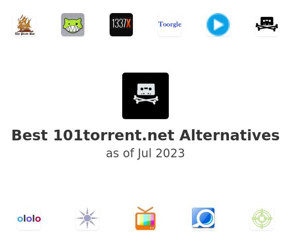 Best 101torrent.net Alternatives