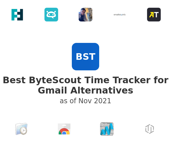 Best ByteScout Time Tracker for Gmail Alternatives