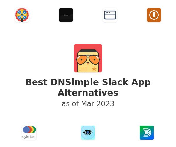 Best DNSimple Slack App Alternatives
