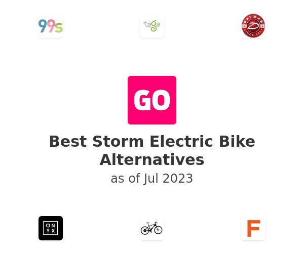 Best Storm Electric Bike Alternatives