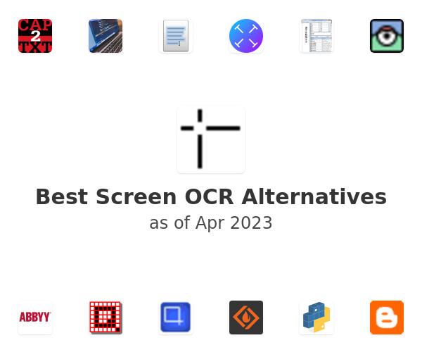 Best Screen OCR Alternatives