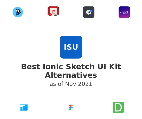 Best Ionic Sketch UI Kit Alternatives