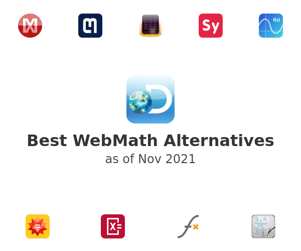 Best WebMath Alternatives