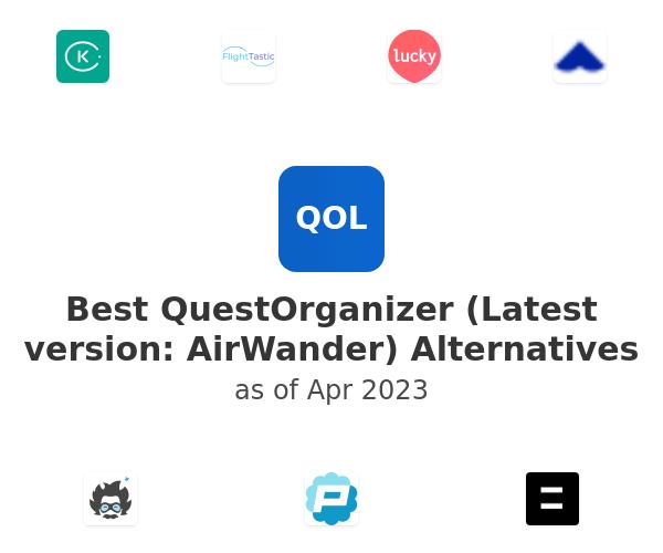 Best QuestOrganizer (Latest version: AirWander) Alternatives