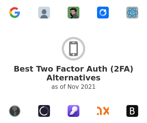 Best Two Factor Auth (2FA) Alternatives