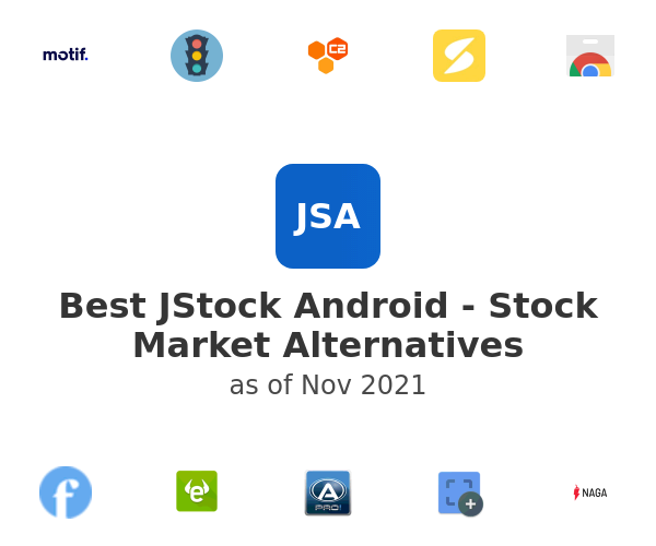 Best JStock Android - Stock Market Alternatives