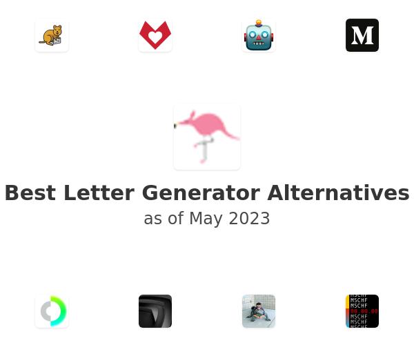 Best Letter Generator Alternatives