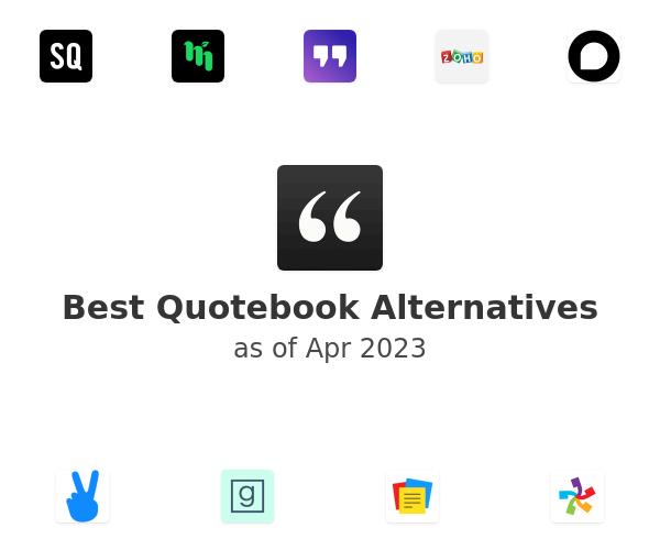 Best Quotebook Alternatives