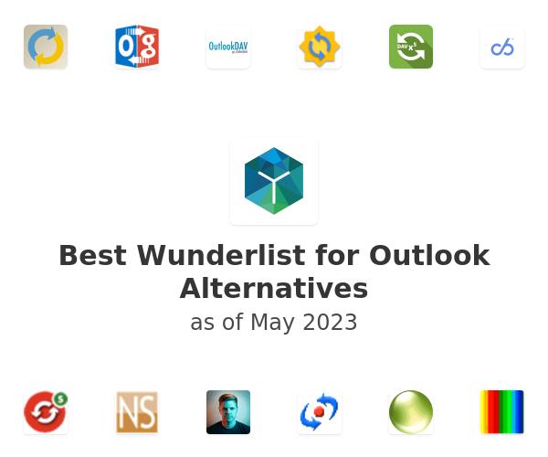 Best Wunderlist for Outlook Alternatives