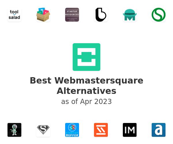 Best Webmastersquare Alternatives