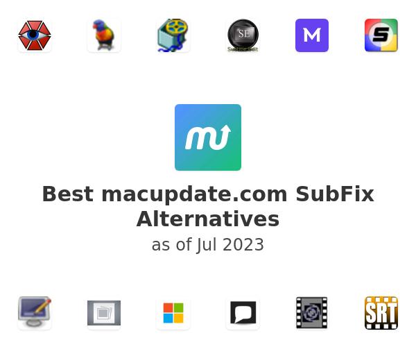 Best macupdate.com SubFix Alternatives
