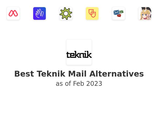 Best Teknik Mail Alternatives