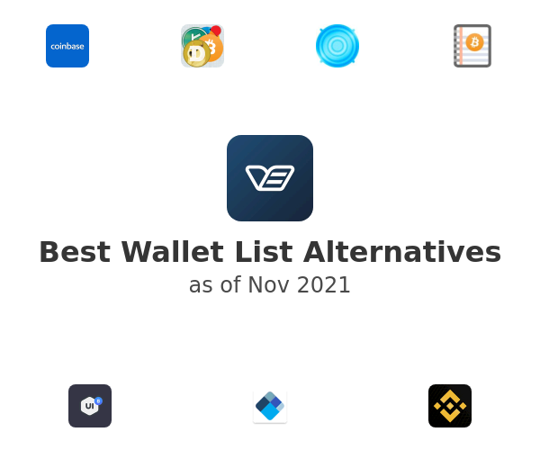 Best Wallet List Alternatives