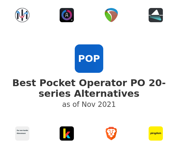 Best Pocket Operator PO 20-series Alternatives