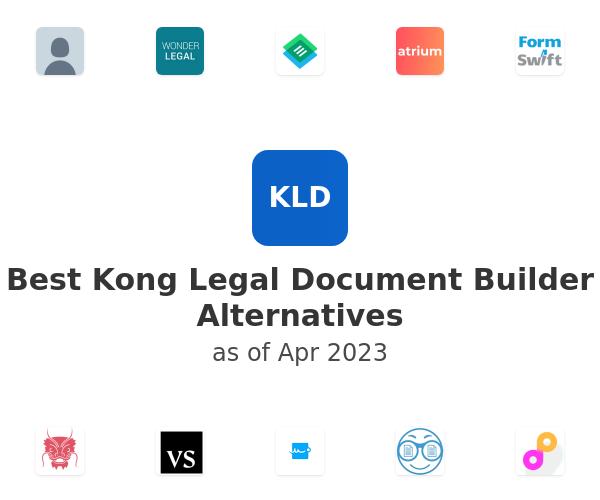Best Kong Legal Document Builder Alternatives