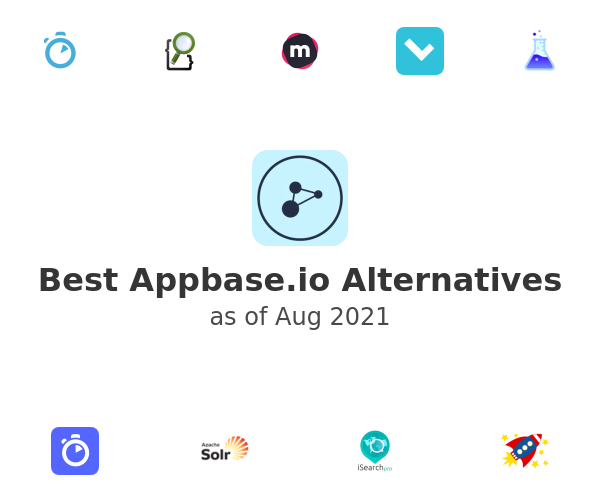 Best Appbase.io Alternatives