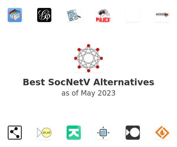 Best SocNetV Alternatives