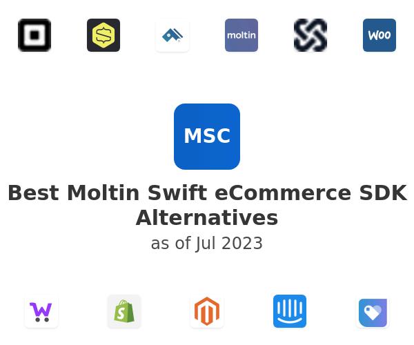 Best Moltin Swift eCommerce SDK Alternatives