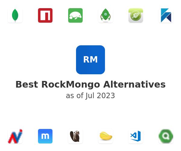 Best RockMongo Alternatives