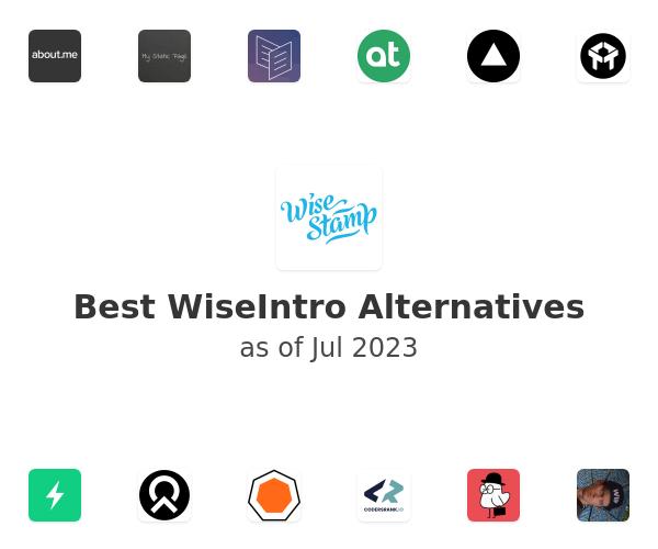 Best WiseIntro Alternatives