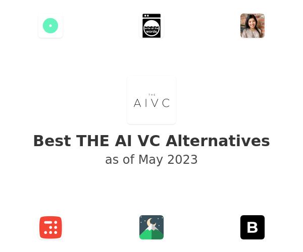 Best THE AI VC Alternatives