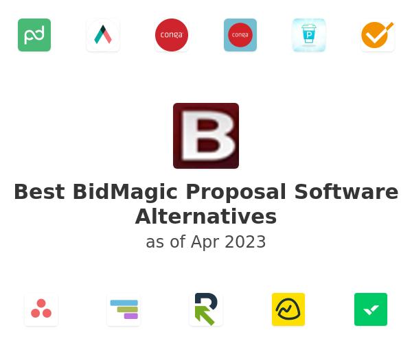 Best BidMagic Proposal Software Alternatives