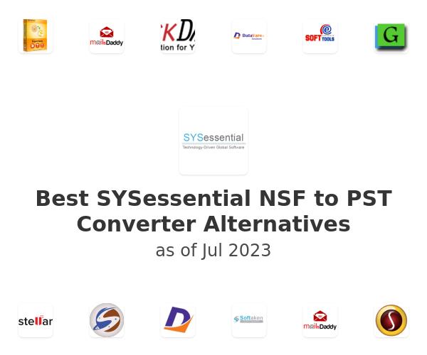 Best SYSessential NSF to PST Converter Alternatives