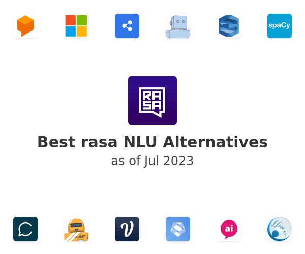 Best rasa NLU Alternatives