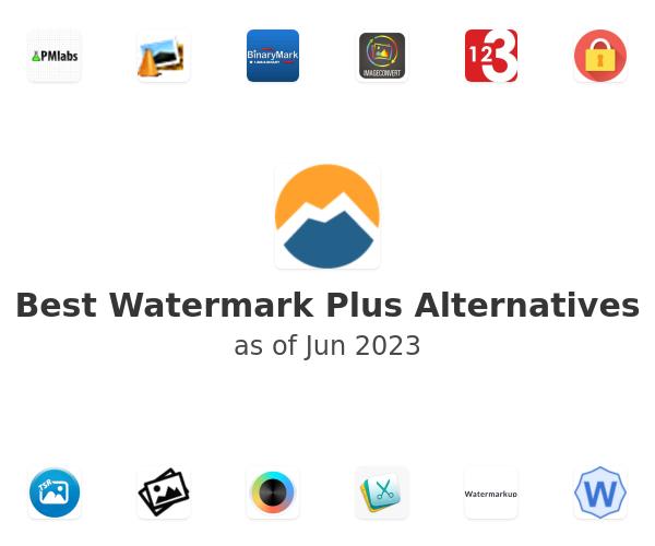 Best Watermark Plus Alternatives