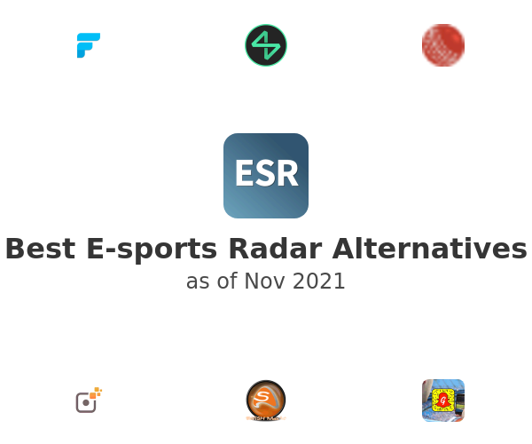 Best E-sports Radar Alternatives