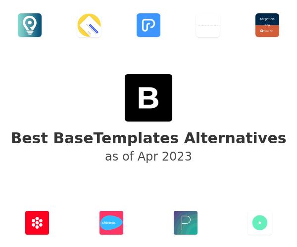 Best Pitch Deck Template Alternatives