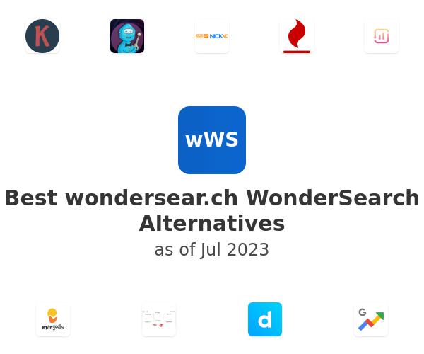 Best WonderSearch Alternatives