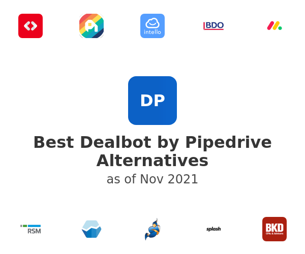 Best Dealbot by Pipedrive Alternatives