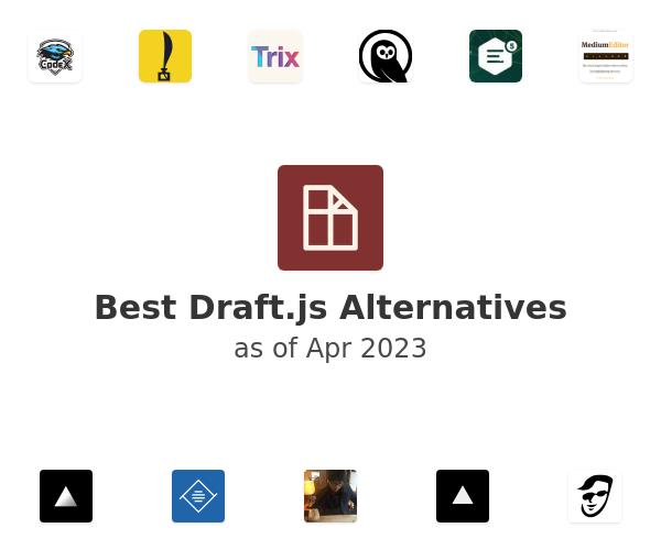 Best Draft.js Alternatives