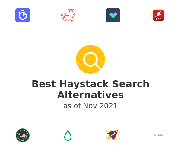 Best Haystack Search Alternatives