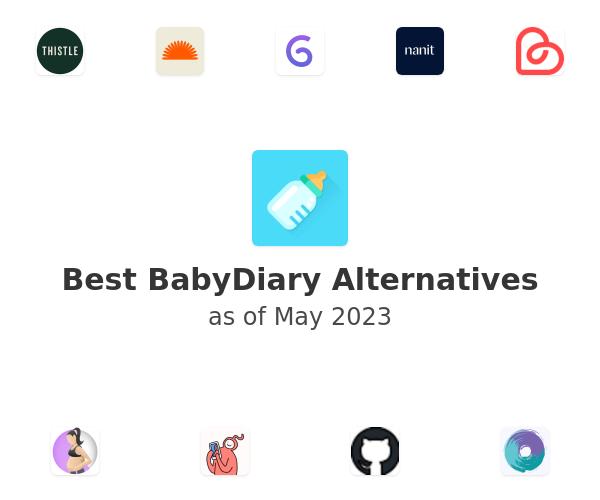 Best BabyDiary Alternatives