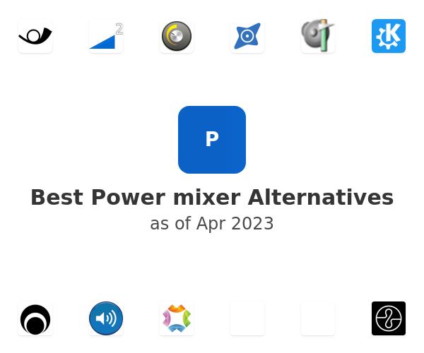 Best Power mixer Alternatives