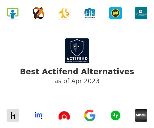 Best Actifend Alternatives