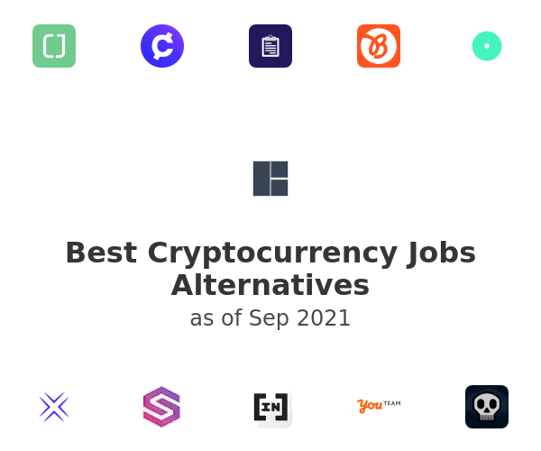 Best Cryptocurrency Jobs Alternatives