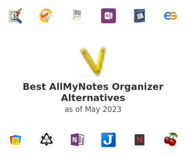 Best AllMyNotes Organizer Alternatives