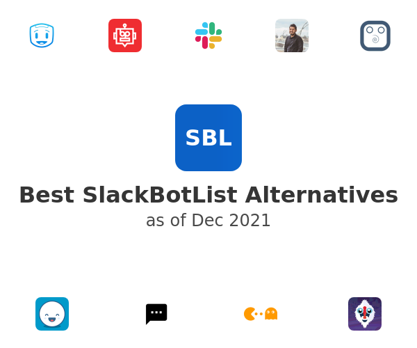 Best SlackBotList Alternatives