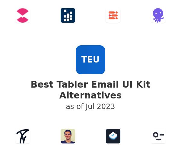 Best Tabler Email UI Kit Alternatives