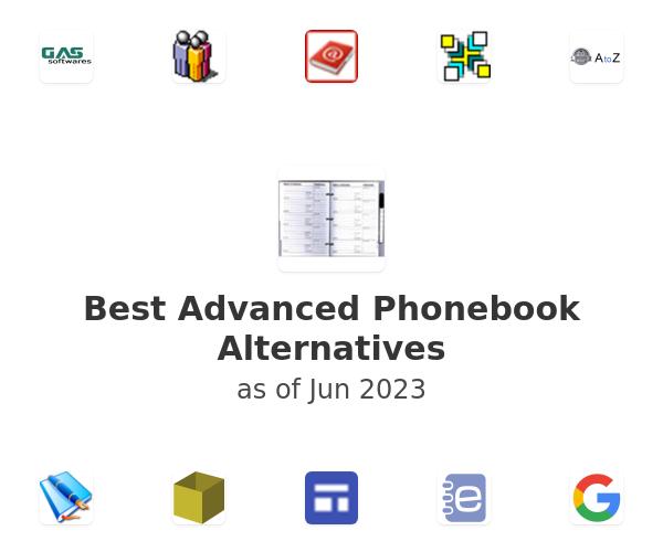 Best Advanced Phonebook Alternatives