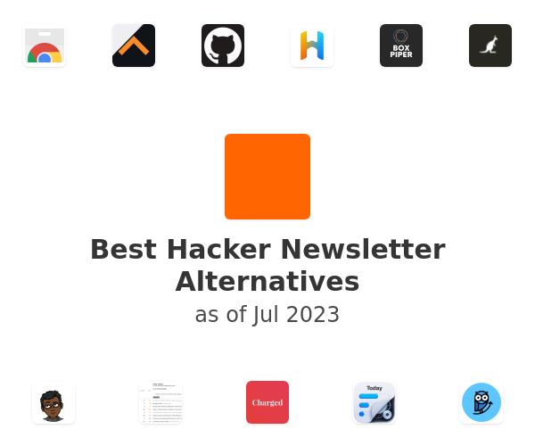 Best Hacker Newsletter Alternatives