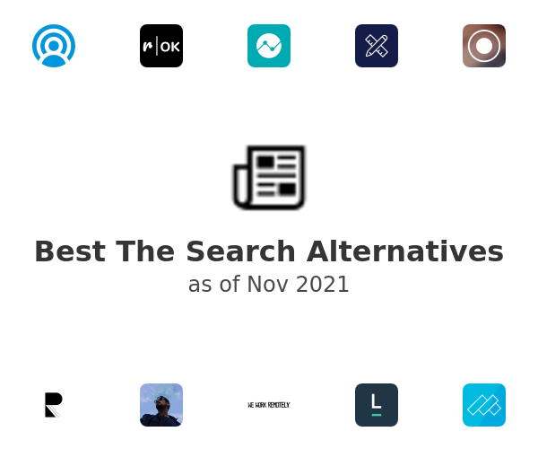 Best The Search Alternatives