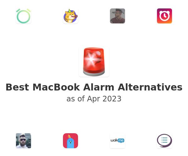 Best MacBook Alarm Alternatives
