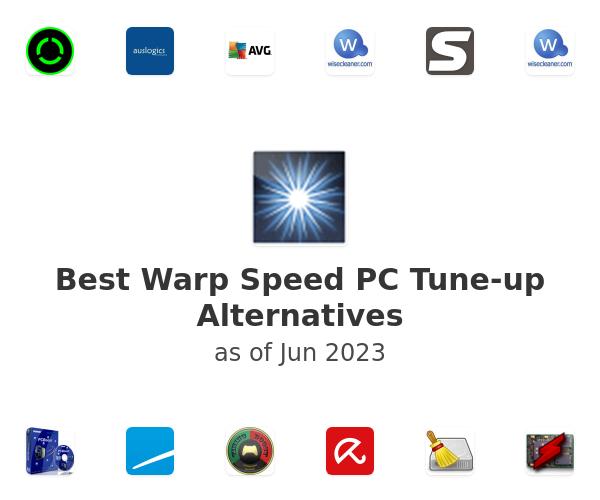 Best Warp Speed PC Tune-up Alternatives