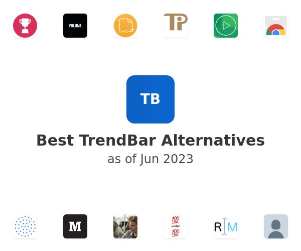 Best TrendBar Alternatives