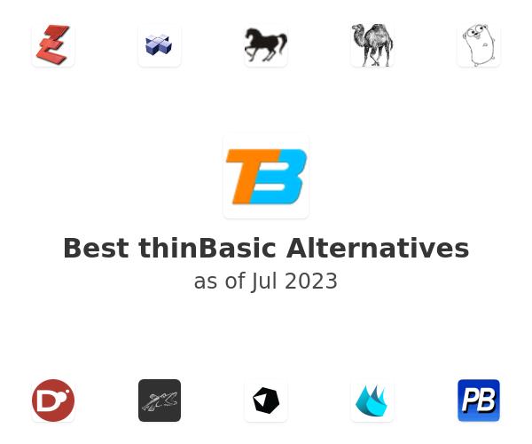 Best thinBasic Alternatives