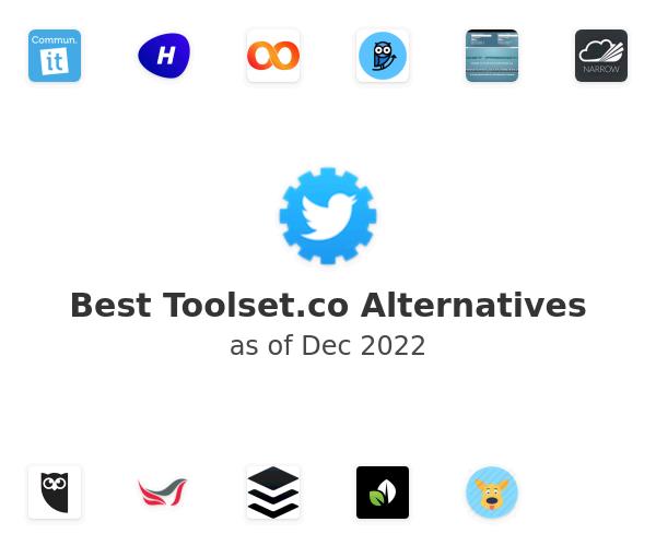 Best Toolset.co Alternatives